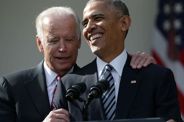 If you're having a bad day, just remember that Barack Obama and Joe Biden's bromance lives on post-presidency