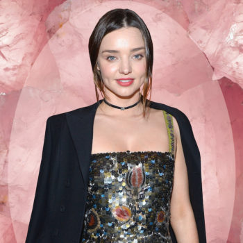 Miranda Kerr tells us about the one beauty product that helped her with heartbreak, rose quartz, and her evening routine