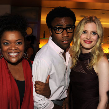 """Yvette Nicole Brown and Gillian Jacobs have heart-eyes for days when talking about their """"Community"""" costar Donald Glover"""