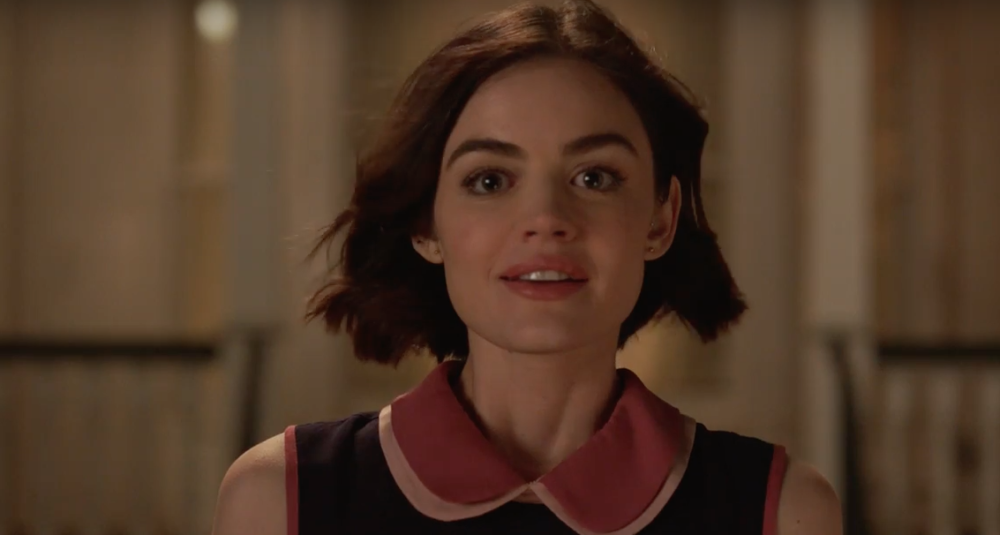 "Lucy Hale explores life after beating cancer in optimistic ""Life Sentence"" trailer"