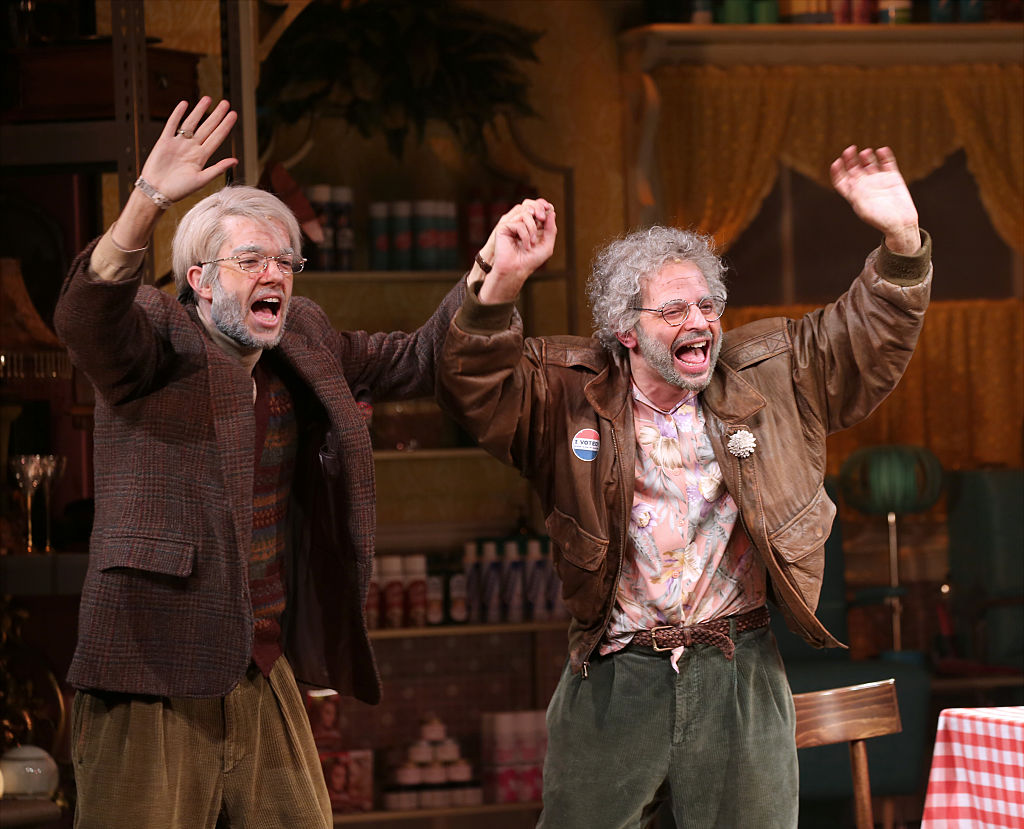 "John Mulaney and Nick Kroll explain the dangers of turning into old men every single day for 138 days for ""Oh, Hello"""