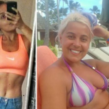 This Instagrammer's side-by-side is a reminder that you don't have to lose weight to wear a bikini