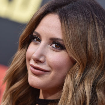 Ashley Tisdale's new hair cut and color is actually the fire emoji