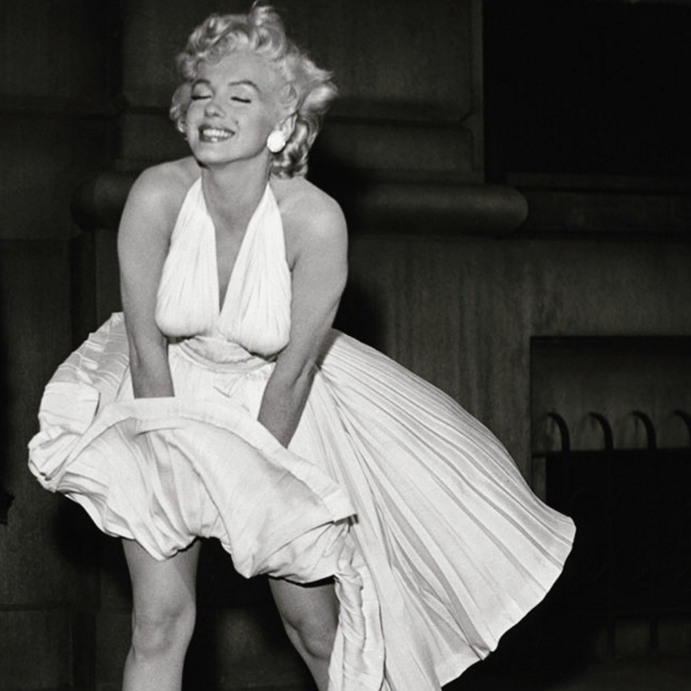 If you don't want a Marilyn Monroe moment, here's how to keep your dress from flying up