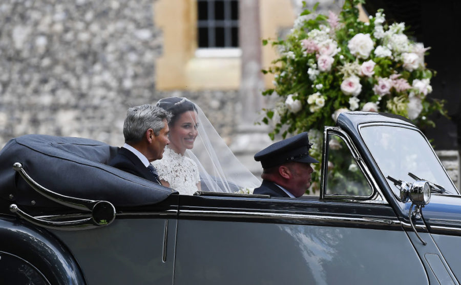 Pippa Middleton's wedding dress was the loveliest lace ever