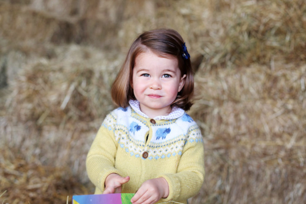 Princess Charlotte deserves an award for sweetest tiny flower girl at her Aunt Pippa's wedding