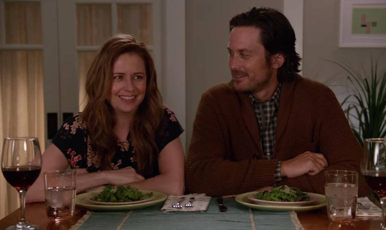 The official trailer for Jenna Fischer and Oliver Hudson's new divorce comedy is here, and it's amazing