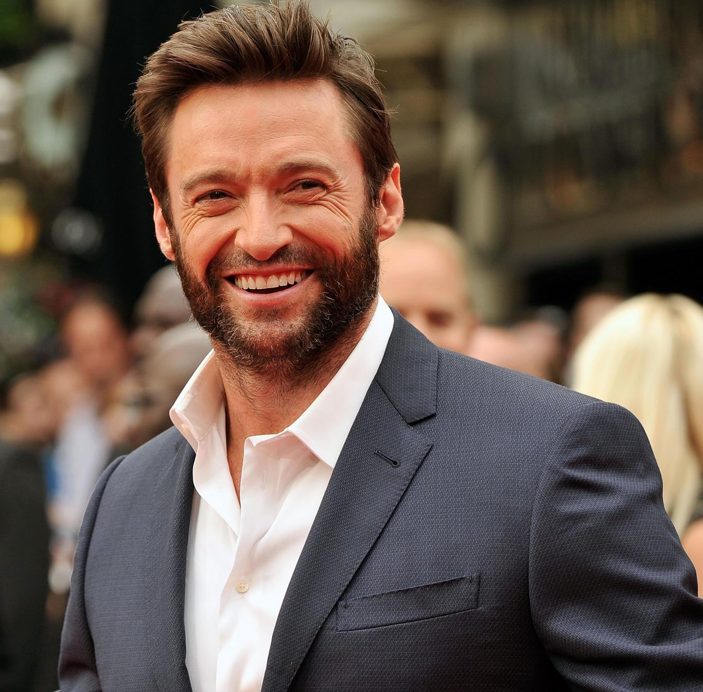 Hugh Jackman didn't know wolverines were a real animal, and LOL