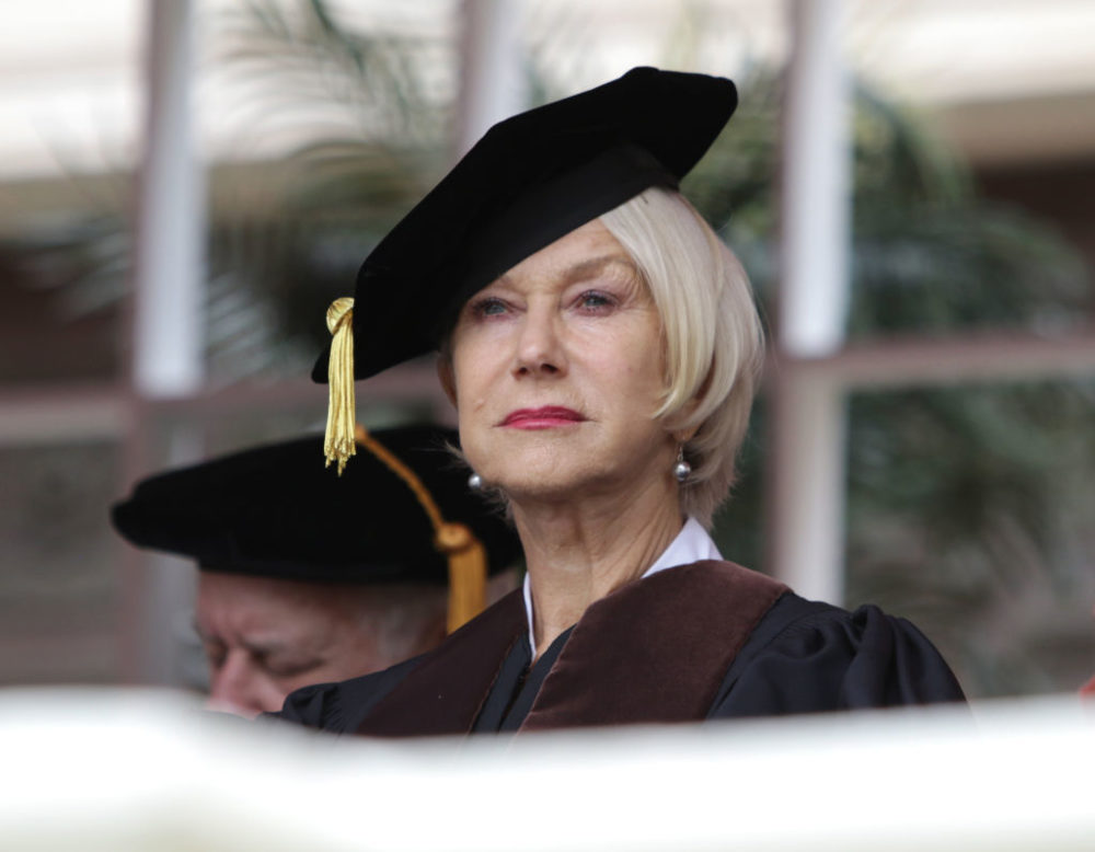 Dame Helen Mirren's graduation speech just gave us five life rules we're memorizing