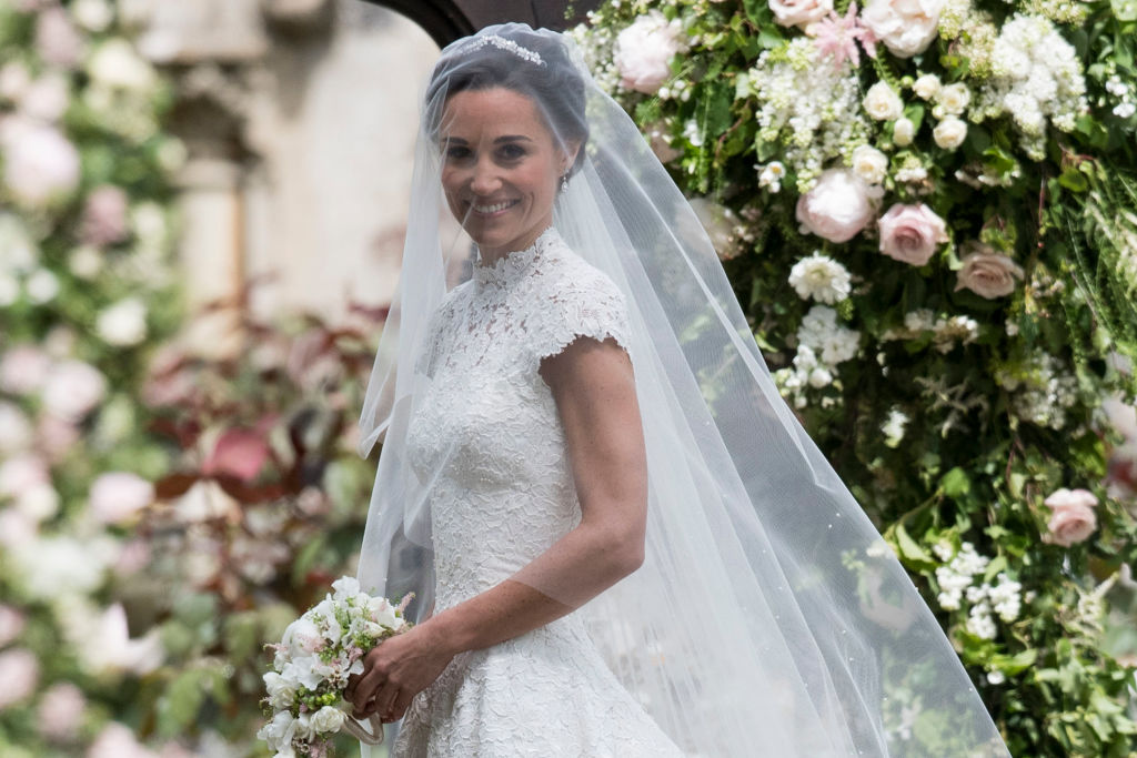 Here's how you can get a lace wedding dress like Pippa Middleton's