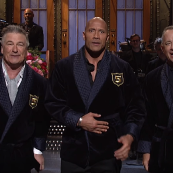 """Dwayne Johnson's """"Saturday Night Live"""" monologue gave us our new presidential candidates, and they are 100% the Dream Team"""