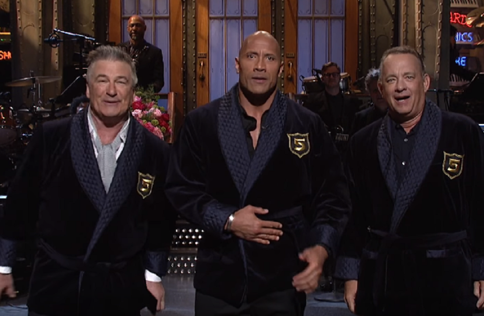 "Dwayne Johnson's ""Saturday Night Live"" monologue gave us our new presidential candidates, and they are 100% the Dream Team"