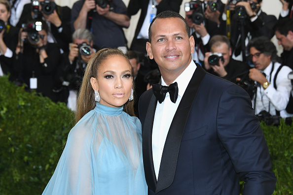 "Alex Rodriguez visited Jennifer Lopez on the set of ""Shades of Blue"""