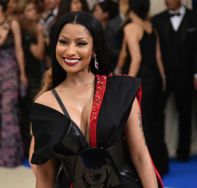 Nicki Minaj has another secret charity project she just shared