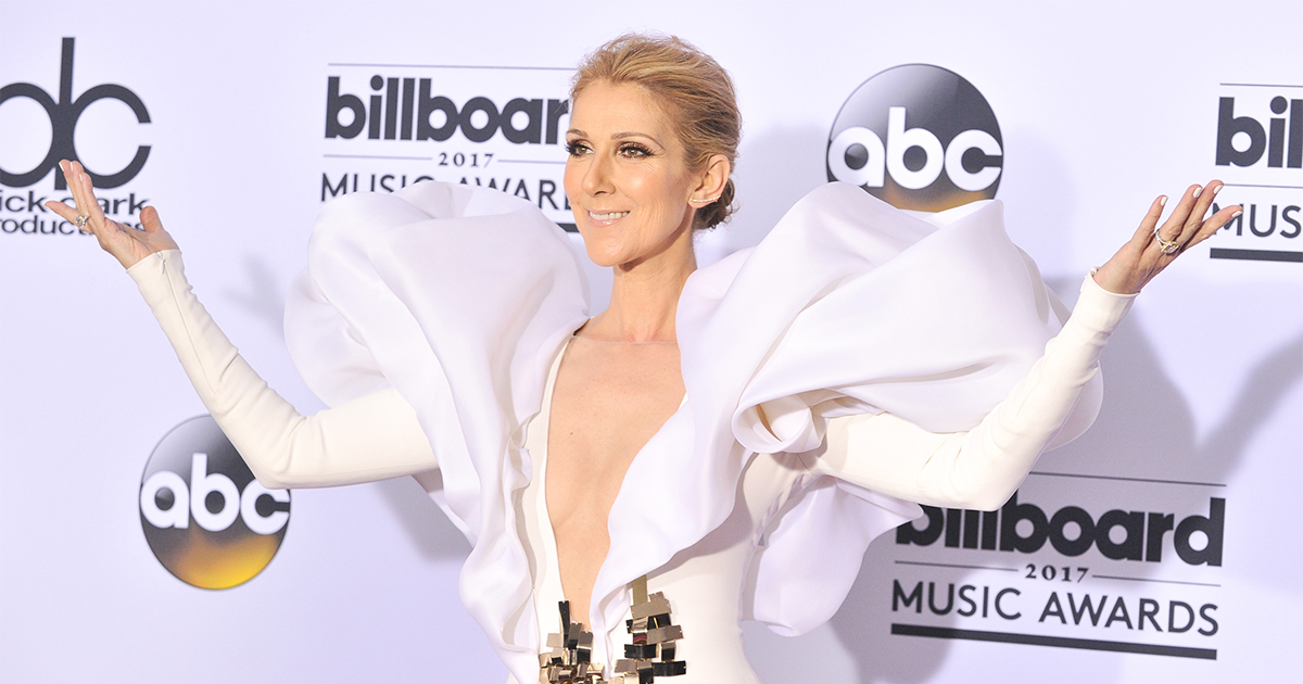Céline Dion led a totally relatable sing-a-long while watching Cher perform at the Billboard Music Awards