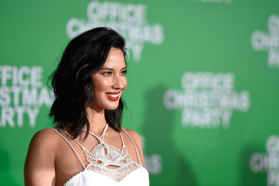 The sheer dress Olivia Munn wore to the Billboard Music Awards is giving us gothic summer vibes