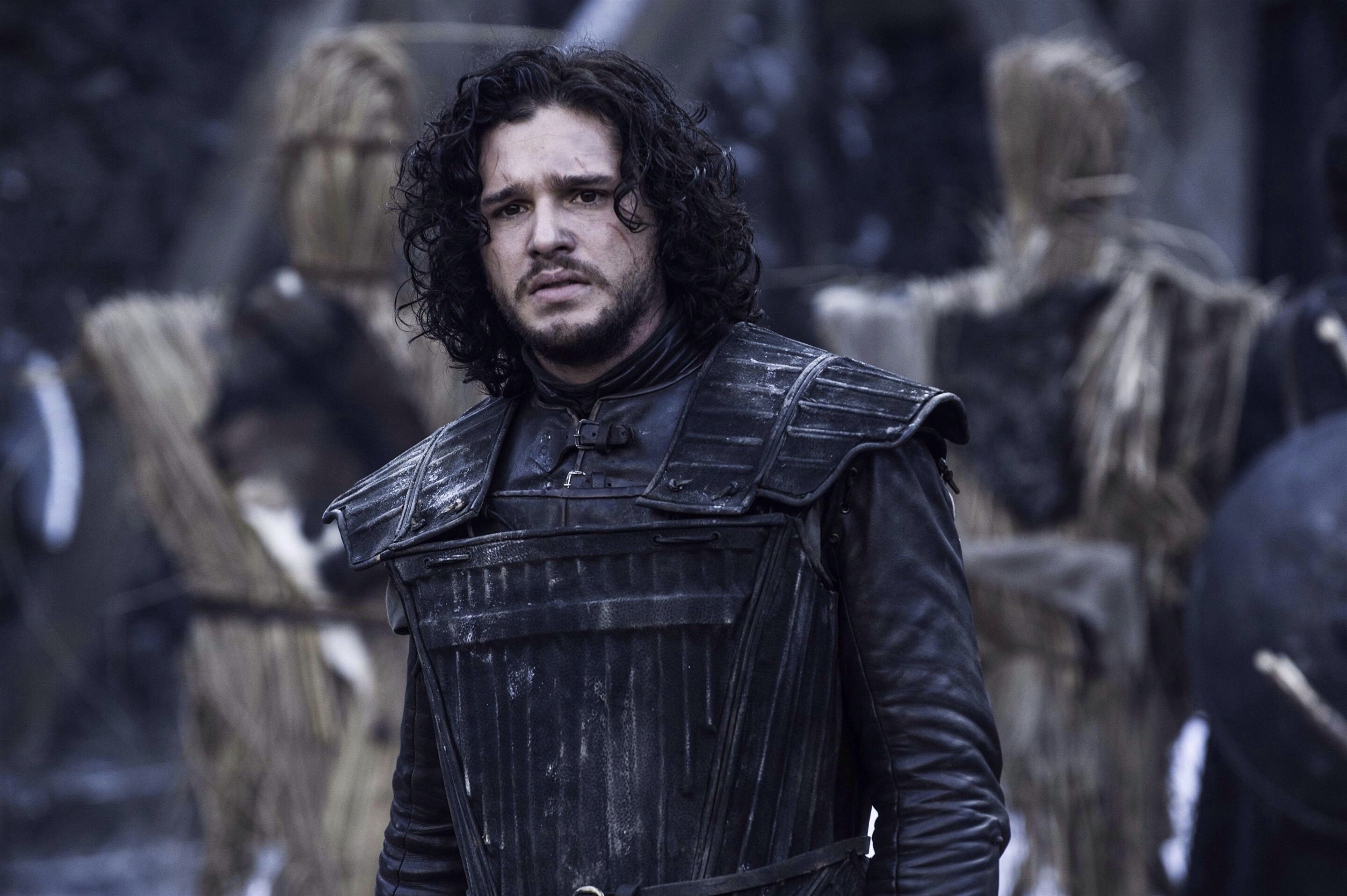 "This new ""Game of Thrones"" image shows us that our favorite character is back: Sad Jon Snow"