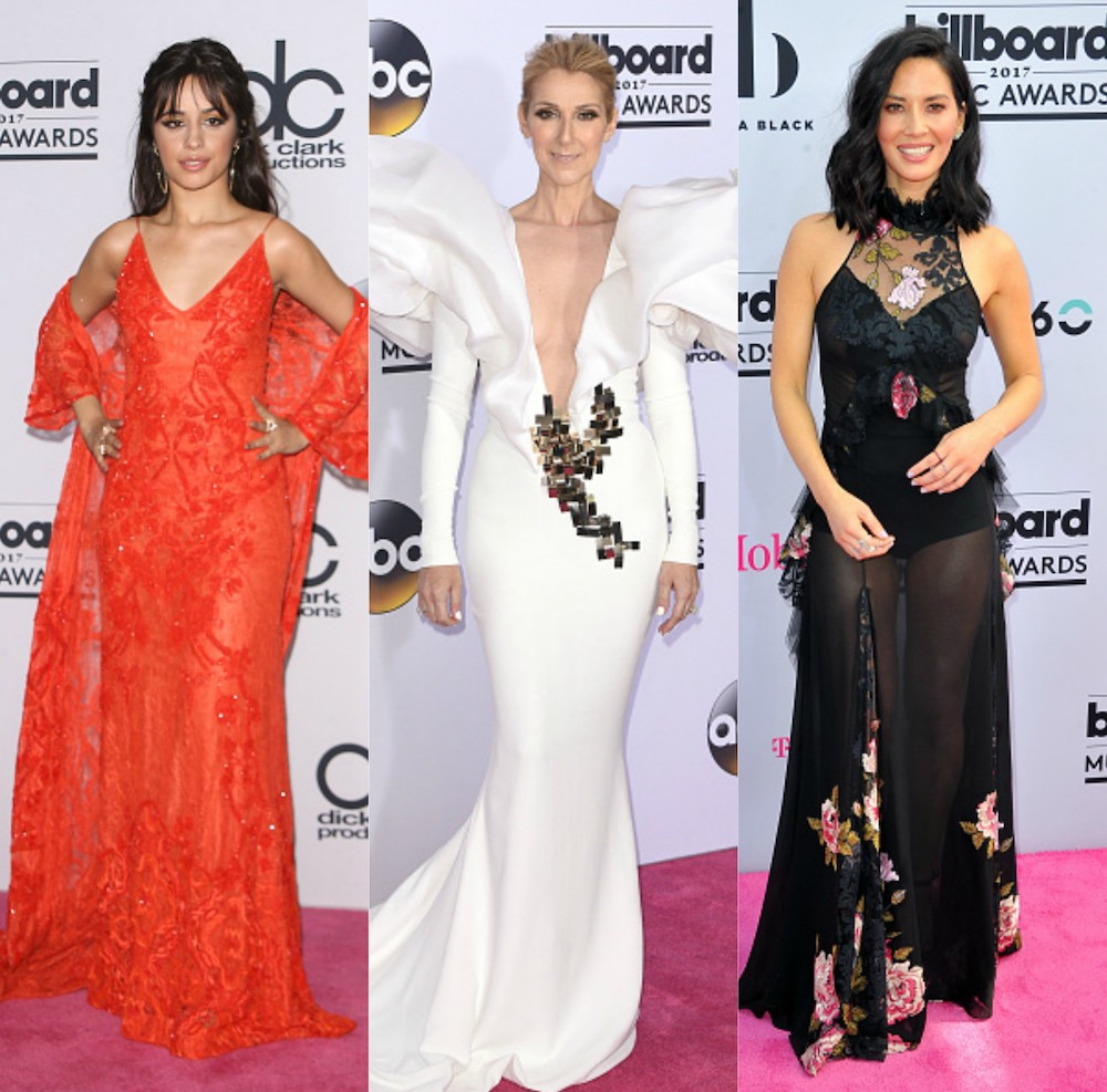 From bold shoulders to garden goth gowns, here are 16 of our favorite looks from the Billboard Music Awards