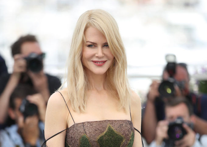 Nicole Kidman's Cannes dress looks like it's covered in moss — Mother Nature would approve