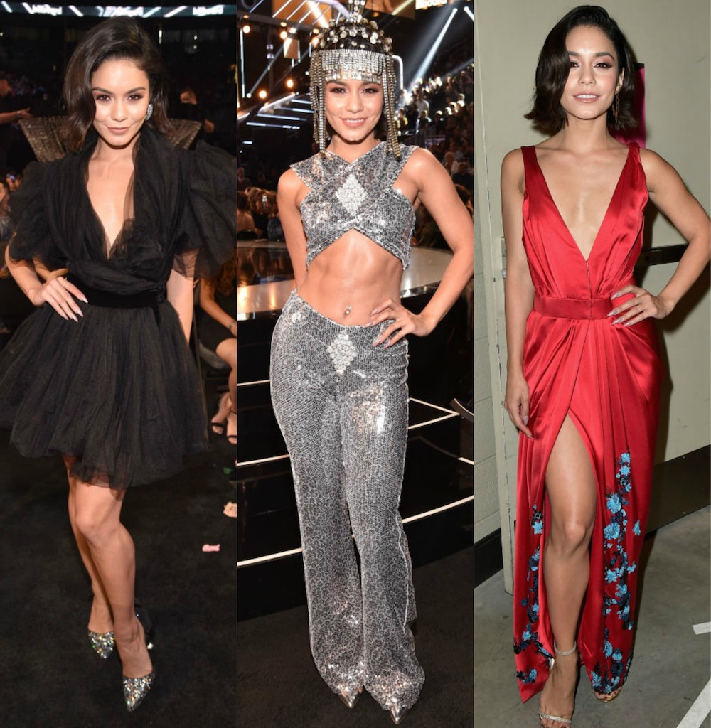 From a Cher-inspired outfit to floral gowns, these are the glam ensembles Vanessa Hudgens wore at the Billboard Music Awards