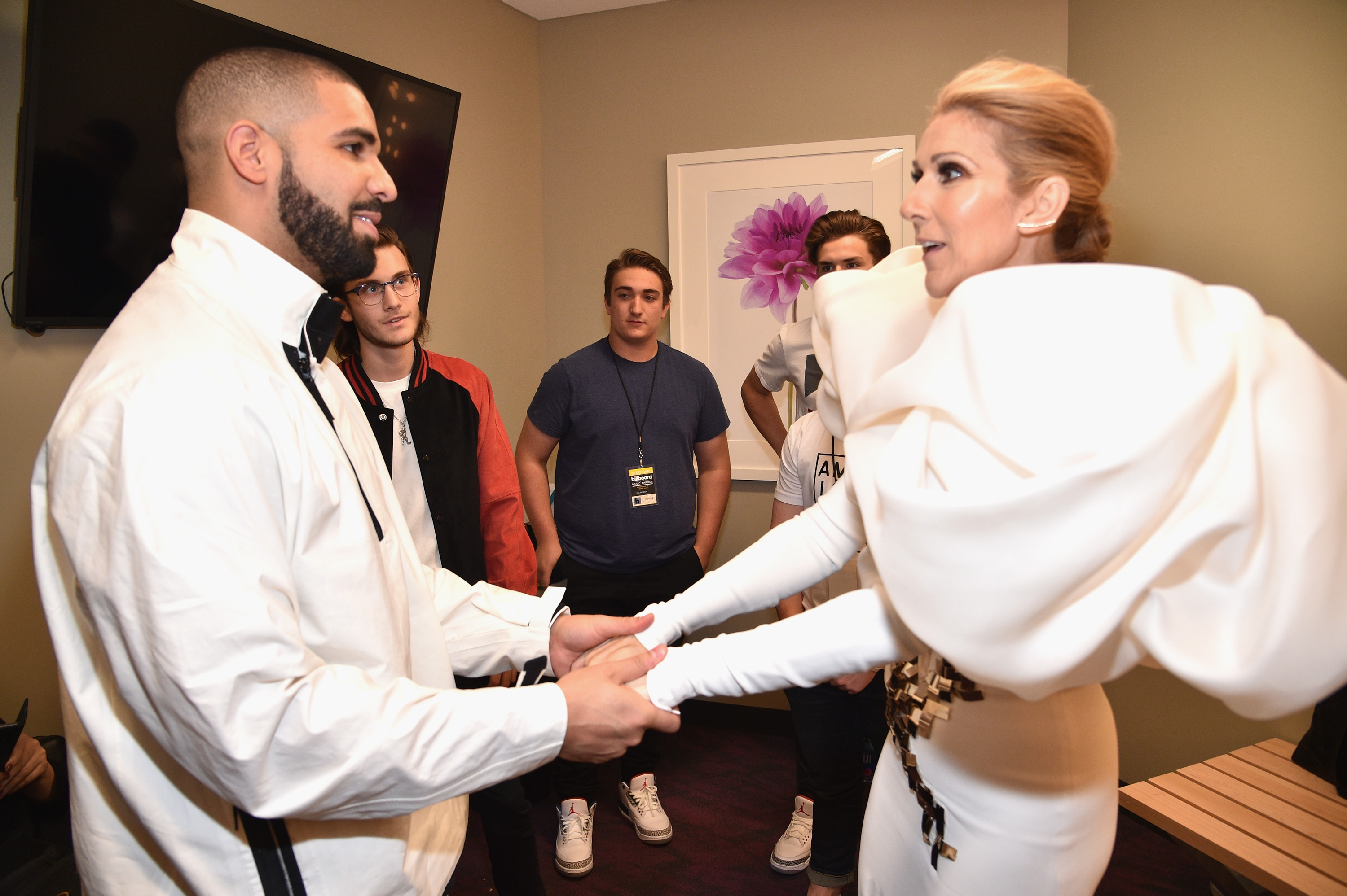 Here's how Céline Dion responded when Drake said he wants a tattoo of her face