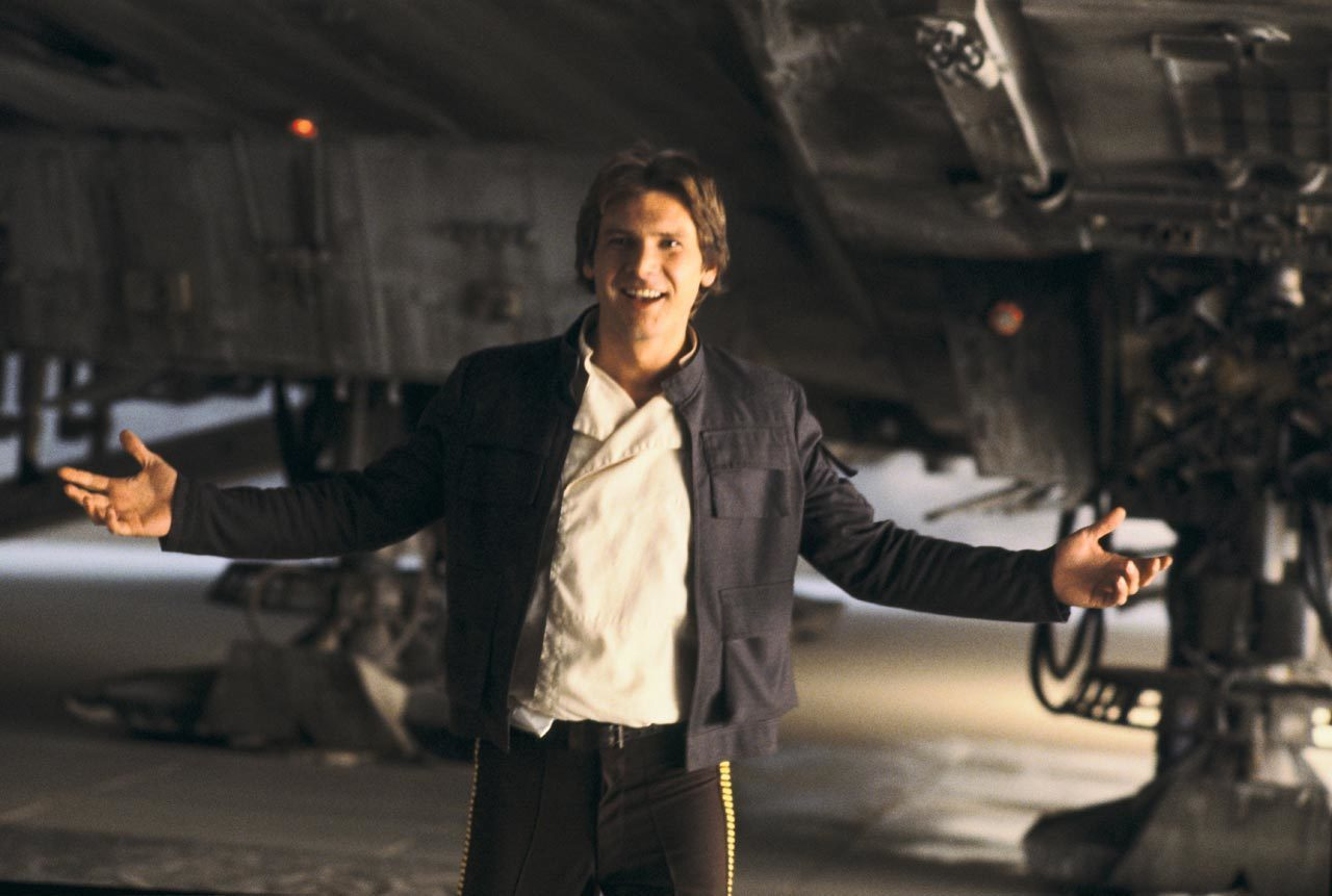 Yes, there are leaked pictures from the Young Han Solo movie, and yes, they are glorious