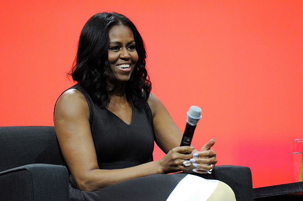 Michelle Obama has proven that bubblegum pink is the new Millennial pink