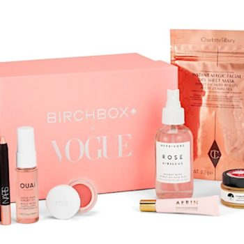"""Birchbox teamed up with """"Vogue"""" to create a rose-themed box in honor of the magazine's legacy"""