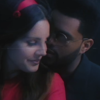 Lana Del Rey and the Weeknd are the queen and king of the Hollywood sign in her new video