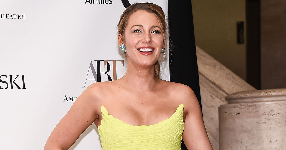 You NEED to see Blake Lively's neon yellow dress as soon as possible