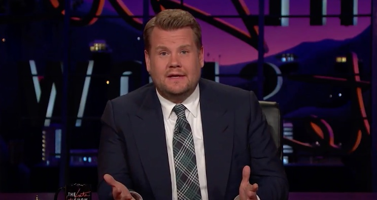 James Corden shared emotional words in response to the attack in Manchester