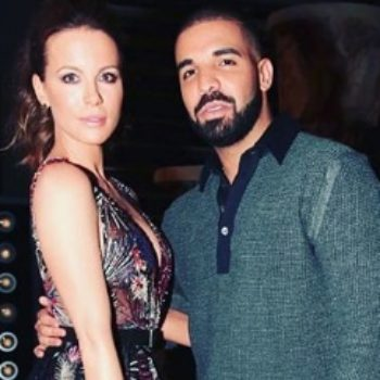 Kate Beckinsale revealed she was having a major wardrobe issue when she met Drake at the Billboard Music Awards