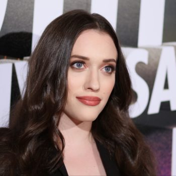 Kat Dennings just shared a picture of her first gray hairs, because she always keeps it real
