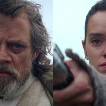 "Well, Luke and Rey certainly *look* like father and daughter on the latest cover of ""Vanity Fair"""
