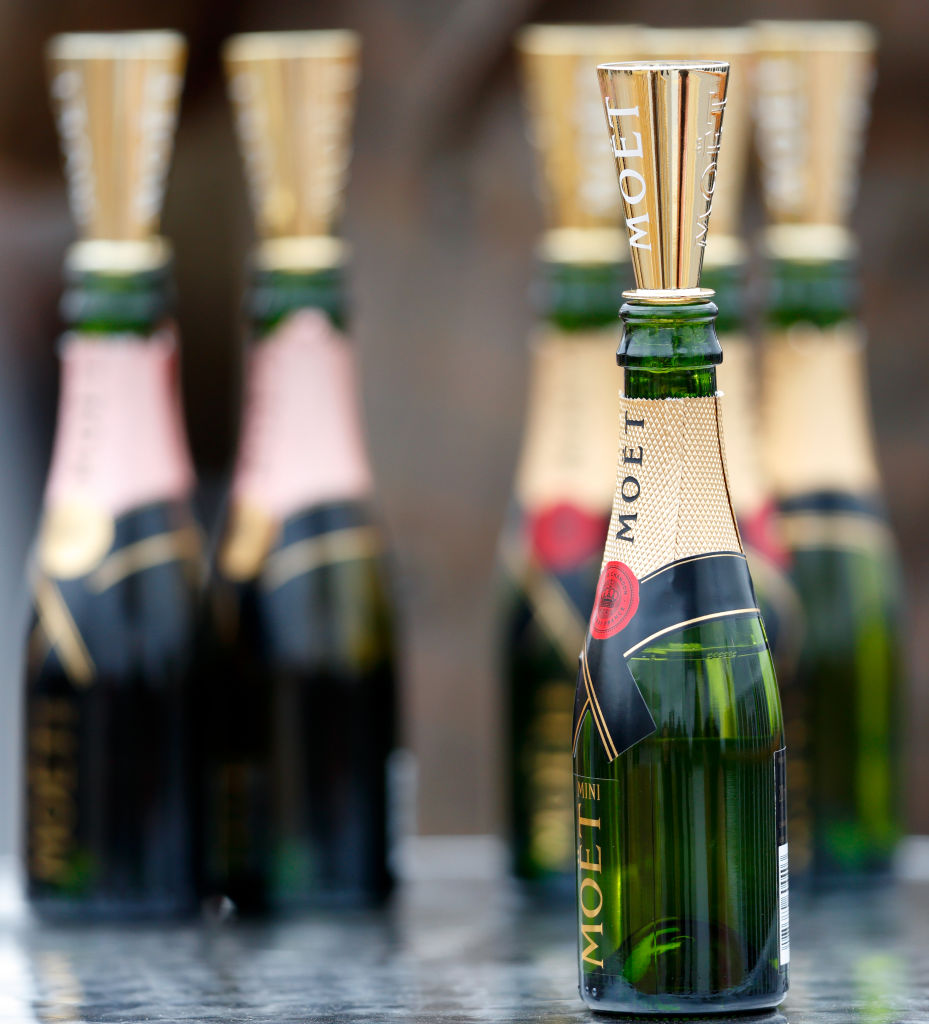 Champagne six-packs are a thing in case you want to pop more than one bottle at a time