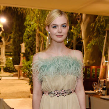 The flowers on Elle Fanning's Cannes gown look so real, we can't tell if they're fake or not