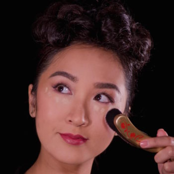 Bésame Cosmetics is coming out with the most chic foundation stick we've ever seen