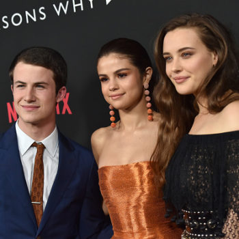 "This ""13 Reasons Why"" actor couldn't help but fangirl over executive producer Selena Gomez, and same"