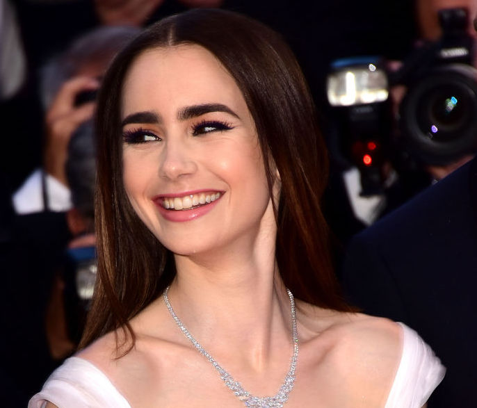 Hold up: does Lily Collins have a full-blown perm now?