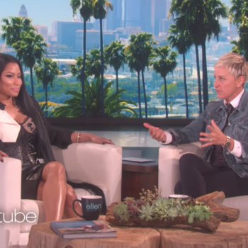 Nicki Minaj just convinced Ellen DeGeneres to start a fake feud with Oprah, and LOL