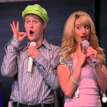 "Ashley Tisdale and Lucas Grabeel just recreated this iconic ""High School Musical"" number, and now it's 2006 again"