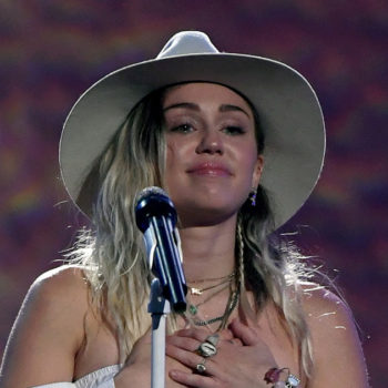 "Miley Cyrus dedicated her latest performance of ""Malibu"" to the victims of the Manchester bombing and Ariana Grande"