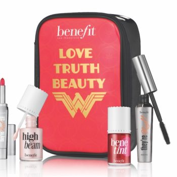 Benefit Cosmetics and Wonder Woman are joining forces to launch the ultimate makeup kit