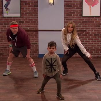 Jennifer Lopez and James Corden danced with toddlers, and one of them totally killed it