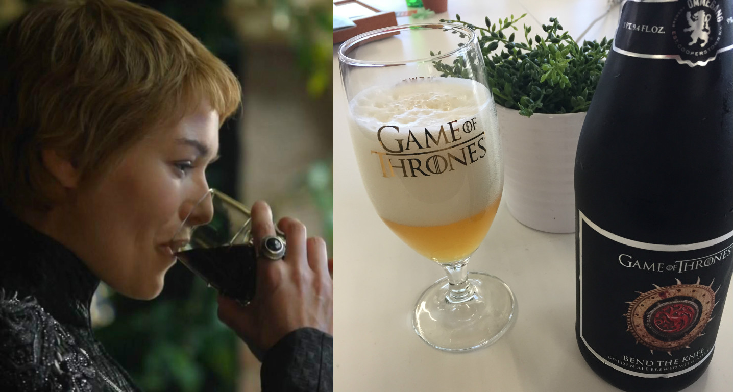 "Because we drink and we know things, we tried the newest ""Game of Thrones"" beer"