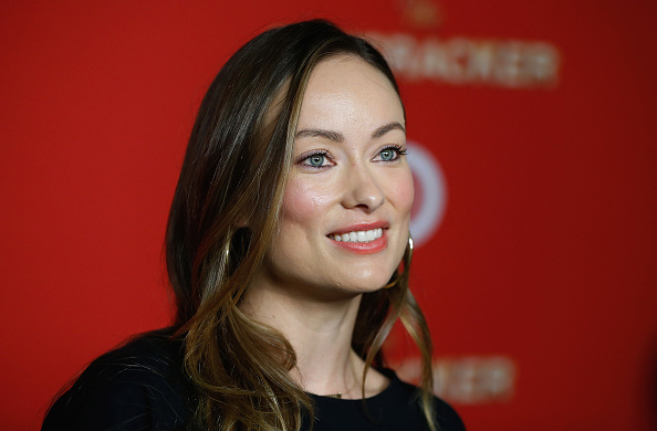 Olivia Wilde looks like the lollipop emoji in her rainbow outfit