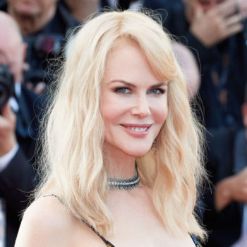 Nicole Kidman accessorized her Cannes gown with a mid-2000s grommet belt, and somehow it works