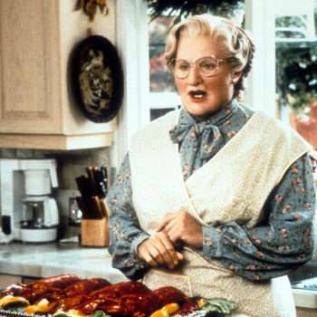 "This four-year-old had a ""Mrs. Doubtfire""-themed birthday party"
