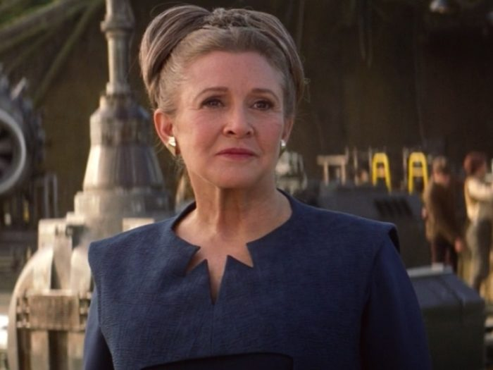 "General Leia slaps someone in ""The Last Jedi,"" and it's not who you'd expect"