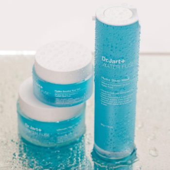 Thanks to the new Water Fuse collection from Dr. Jart+, our skin will stay hydrated this summer
